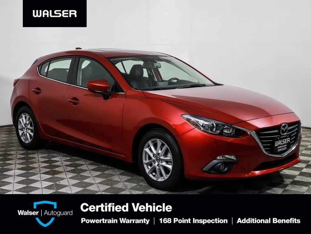 Pre-Owned 2016 Mazda3 GT HB NAV BOSE MR