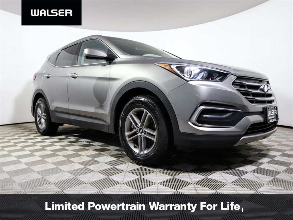 Pre-Owned 2018 Hyundai Santa Fe Sport Base