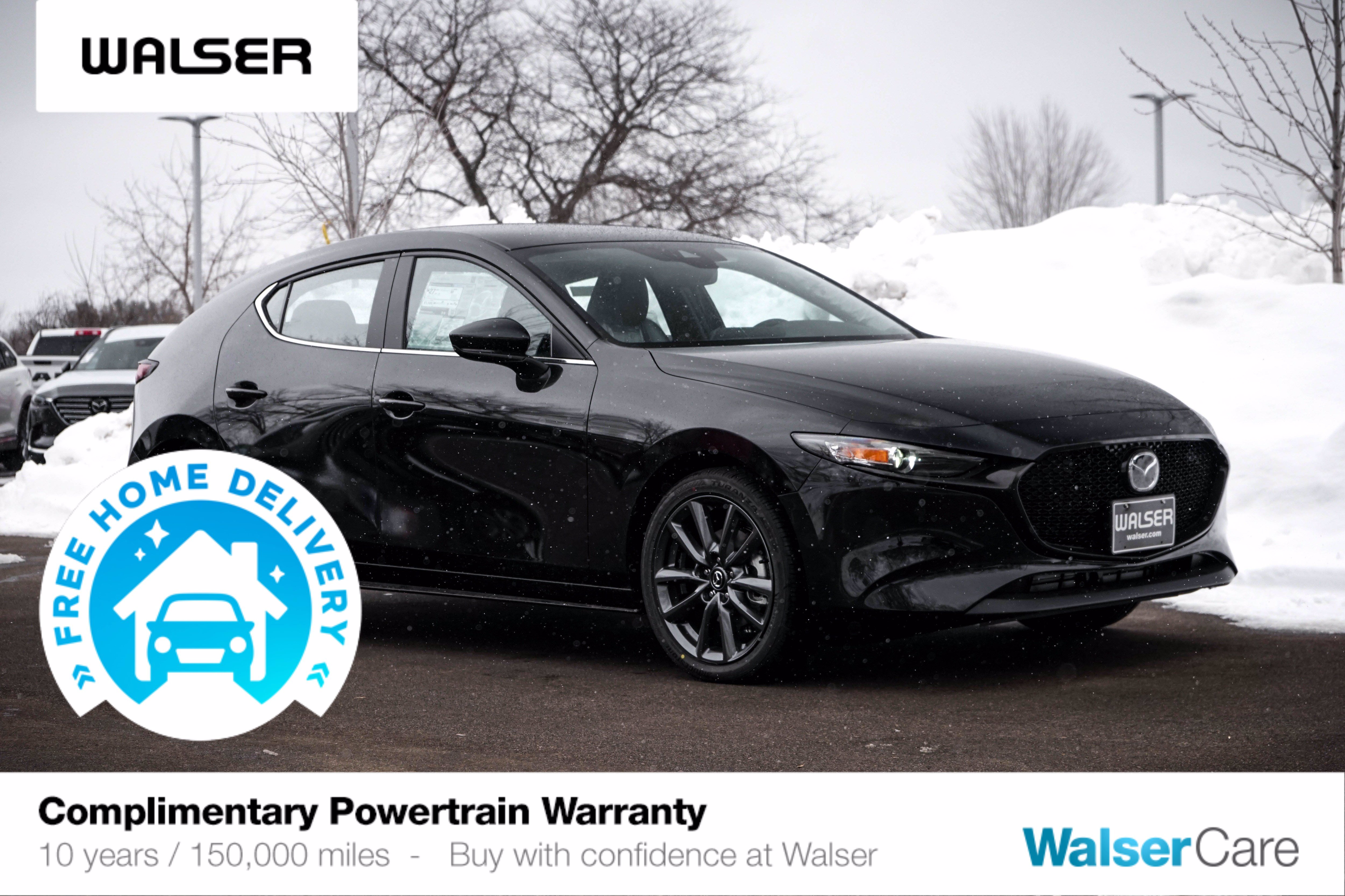 New 2020 Mazda3 Hatchback AWD Auto w/Preferred Pkg