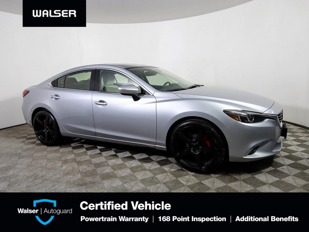 Pre-Owned 2016 Mazda6 Grand Touring