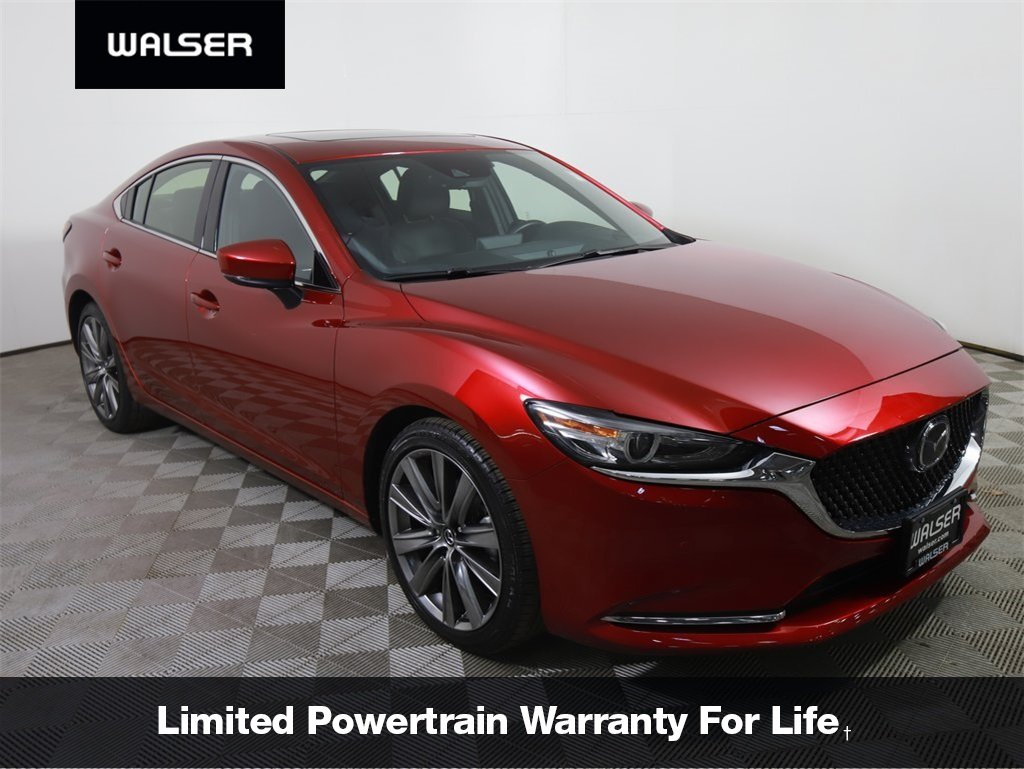 Certified Pre-Owned 2018 Mazda6 Signature Leather