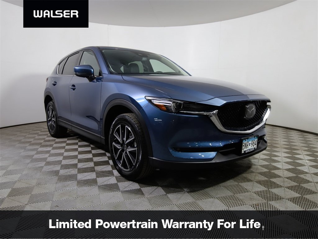 Certified Pre-Owned 2018 Mazda CX-5 Grand Touring Nav