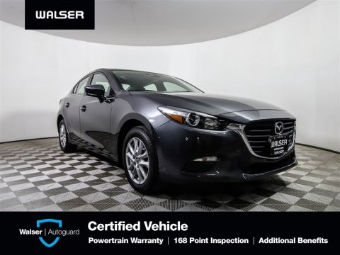 Pre-Owned 2018 Mazda3 4-Door Sport Backup Camera