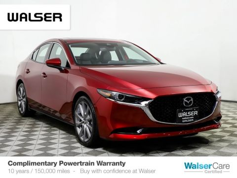 Pre-Owned 2019 Mazda3 Sedan FWD w/Premium Pkg