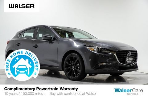 Pre-Owned 2017 Mazda3 Hatchback Grand Touring Auto