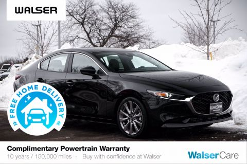 New 2020 Mazda3 Sedan AWD w/Select Pkg