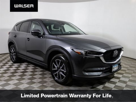 Certified Pre-Owned 2018 Mazda CX-5 Grand Touring Heated